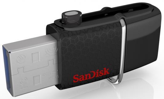 Флешка USB 256Gb Sandisk Ultra Android Dual USB SDDD2-256G-GAM46 черный цена и фото