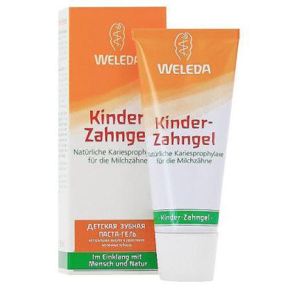 WELEDA Детская зубная паста-гель 50 мл набор weleda веледа набор мягкое бритье 2 средства