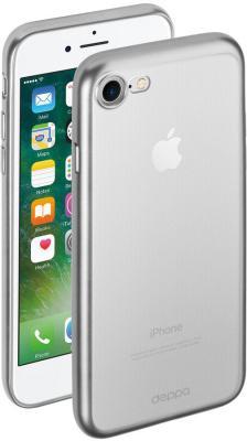 Накладка Deppa Gel Plus для iPhone 7 iPhone 8 серебристый 85282