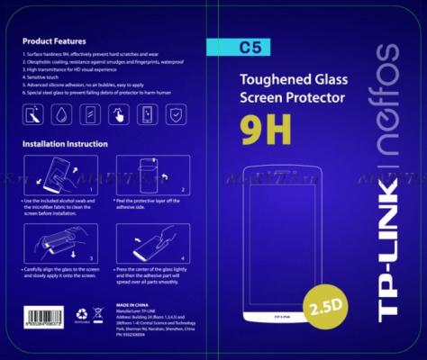 Защитное стекло Neffos для Neffos C5 PT701G