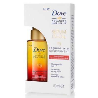 DOVE Масло-сыворотка для волос Advanced Hair Series Прогрессивное восстановление 50мл косметика для мамы dove кондиционер для волос advanced hair series прогрессивное восстановление 250 мл
