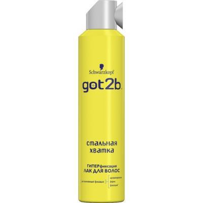GOT2B Лак для волос СТАЛЬНАЯ ХВАТКА 300мл got2b лак для волос мегамания 300мл