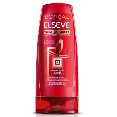 LOREAL ELSEVE Бальзам-ополаскиватель для волос Эксперт цвета 200мл l u0027oreal elseve питание и обогащение