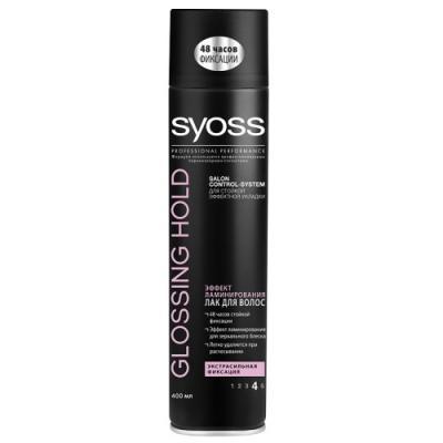 Лак для волос SYOSS Glossing&Hold 400 мл лак для волос syoss syoss sy001lwsii43