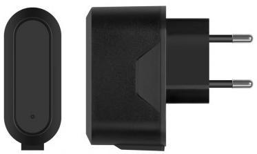 Сетевое зарядное устройство Deppa Prime Line USB 1A черный 2304 внешний аккумулятор deppa prime line 8000mah 2 5a белый 3351