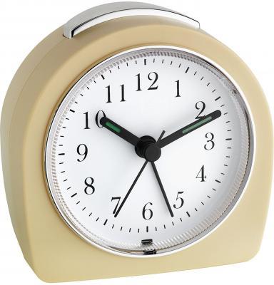купить Часы настольные TFA 60.1021.09 бежевый по цене 1240 рублей