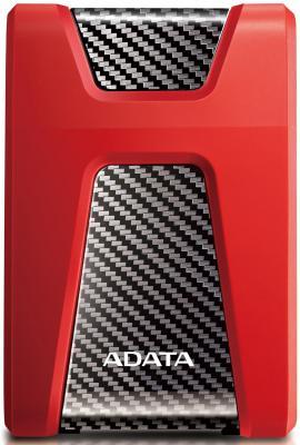 Внешний жесткий диск 2.5 USB3.1 2Tb Adata AHD650 AHD650 -2TU31-CRD красный внешний жесткий диск 2 5 usb3 0 1tb a data ahd650 1tu3 crd красный