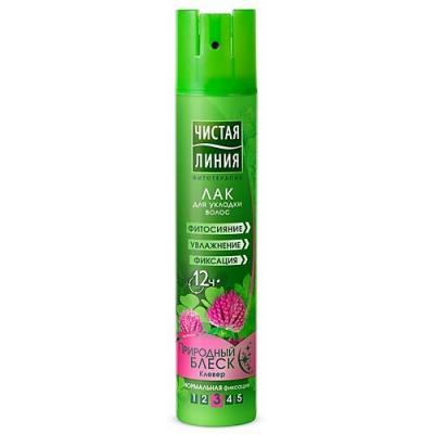 Лак для волос Чистая Линия Природный блеск 200 мл чистая линия лак для укладки волос природный блеск 200мл