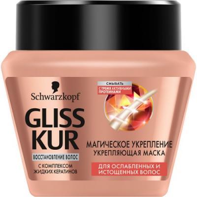 GLISS KUR Восстанавливающая маска Реновация волос 300мл