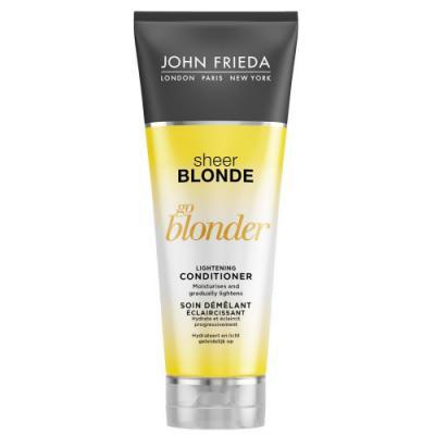 Sheer Blonde Go Blonder Кондиционер осветляющий для натуральных, мелированных и окрашенных волос 250 мл john frieda кондиционер осветляющий для натуральных мелированных и окраш волос sheer blonde go blonder 250 мл