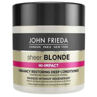 Sheer Blonde HI-IMPACT Маска для восстановления сильно поврежденных волос 150 мл john frieda маска для восстановления сильно поврежденных волос sheer blonde hi impact 150 мл