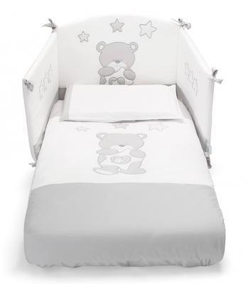 Комплект постельного белья 3 предмета Erbesi Birba (белый)