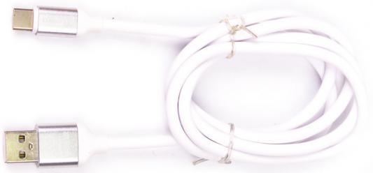 лучшая цена Кабель Type-C 1м Harper SCH-730 круглый белый H00001630