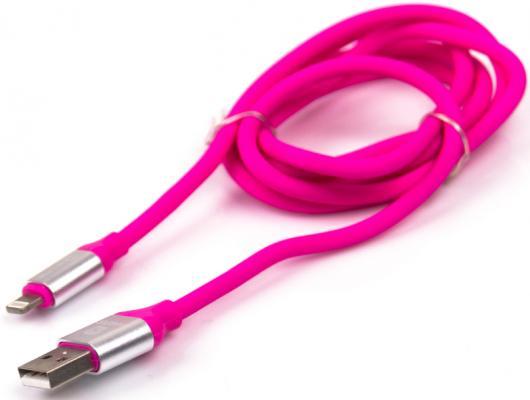 Кабель Lightning 1м Harper SCH-530 круглый H00001623 розовый