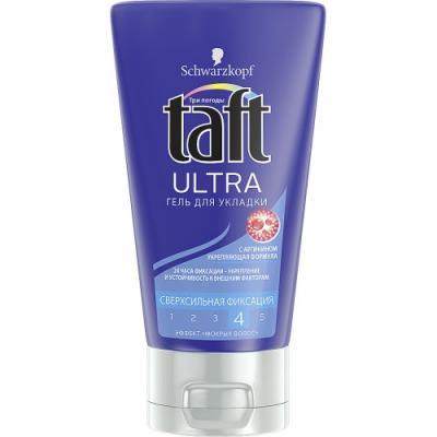 Гель для укладки волос Taft гель Ultra 150 мл спрей гель для укладки волос wella design boost it супер сильная фиксация 150 мл