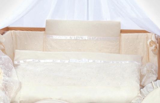 Постельный сет 6 предметов 125х65см Lepre Romantica (цвет 105 крем) матрас в кроватку 125х65см lepre sogni d
