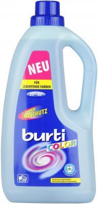 BURTI Жидкое средство для стирки цветного белья Burti Color Liquid 1.5 л жидкое средство для стирки цветного белья burti