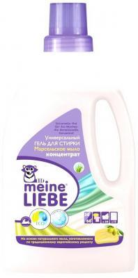 Гель для стирки Meine Liebe Марсельское мыло 800мл детские моющие средства meine liebe промонабор для стирки детский 2