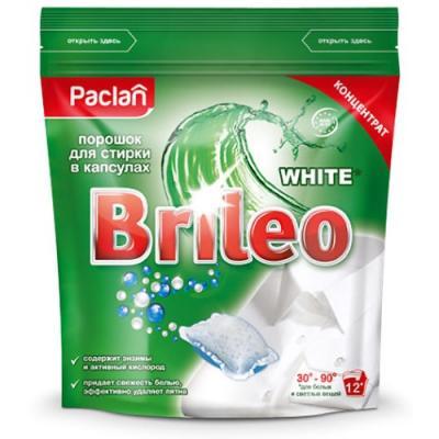 Стиральный порошок PACLAN Brileo White 12шт эвалар формула сна усиленная формула 30 капсулы