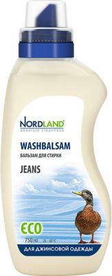 Жидкое стредство для стирки NORDLAND Jeans 750мл жидкое стредство для стирки sarma 750мл