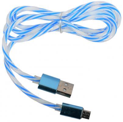Кабель microUSB 1м LP 0L-00030553 витой кабель usb lp microusb сирен