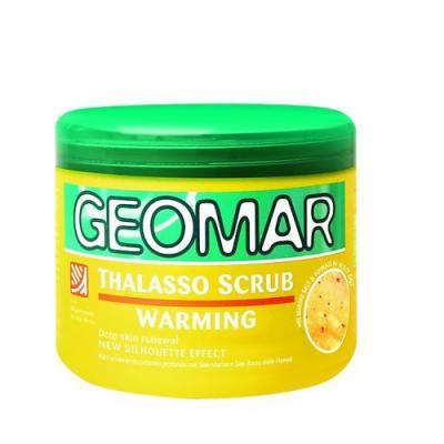GEOMAR Талассо-скраб с ароматом банана 600 г geomar молочко для тела geomar fluida corpo geomar 300 мл