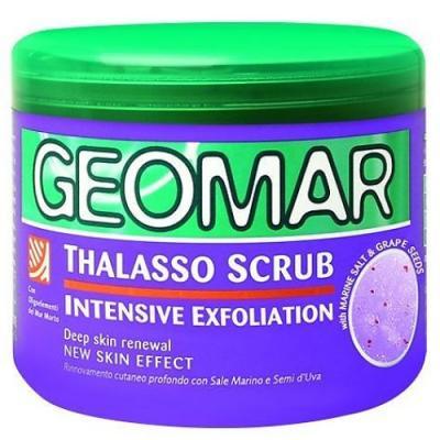 GEOMAR Талассо-скраб с семенами винограда 600 г geomar молочко для тела geomar fluida corpo geomar 300 мл