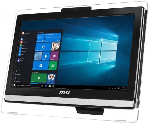 """MSI Pro 20ET 4BW-201RU   19.5""""(1600x900)/Touch/Intel Pentium N3710(1.6Ghz)/4096Mb/1000Gb/DVDrw/Int:Intel HD/Cam/BT/WiFi/war 1y/black/DOS"""