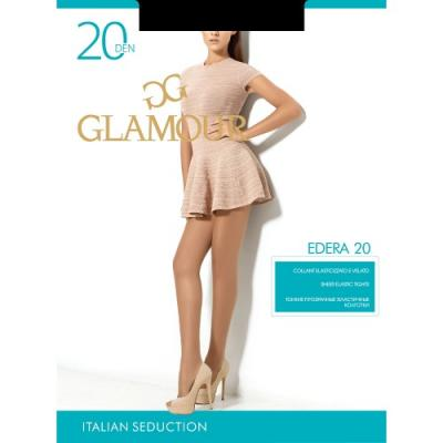 Колготки GLAMOUR Edera 4 20 den черный glamour edera