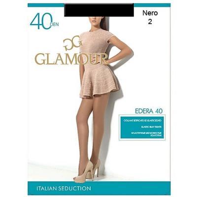 Колготки GLAMOUR Edera 2 40 den черный glamour edera