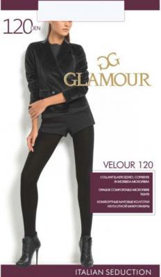 Колготки GLAMOUR Velour 2 120 den черный lacywear колготки kld 120 bgt