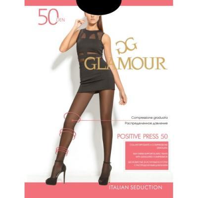 Колготки GLAMOUR Positive press 3 50 den черный