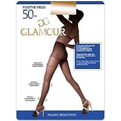 """Колготки GLAMOUR """"Positive press"""" 4 50 den черный"""
