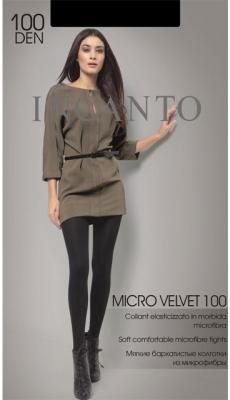 """Колготки INCANTO """"Micro Velvet"""" 2 100 den черный"""