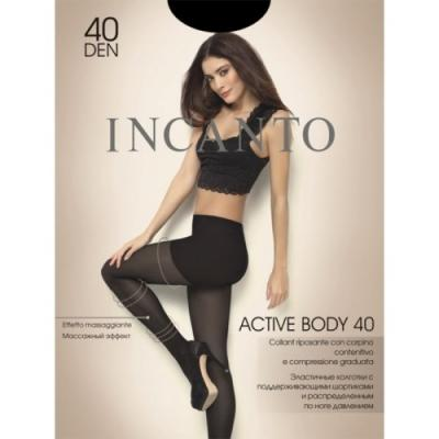 """Колготки INCANTO """"Active Body"""" 2 40 den черный"""