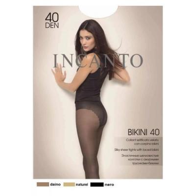 Incanto Колготки Bikini 40 Daino, 4 incanto колготки cosmo 40 daino 4