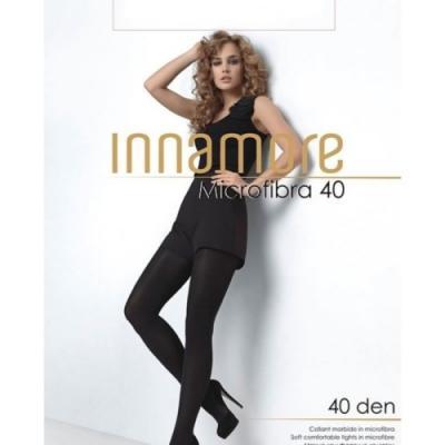 Innamore Колготки женские Microfibra 40 по 80/8 nero, 3 Колготки тонкие 8-50 видеосамоучитель nero 8 cd