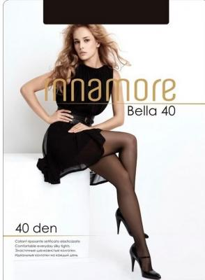 Колготки INNAMORE Bella 4 40 den черный колготки innamore bella 4 40 den медный