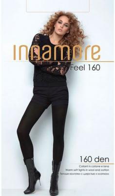Колготки INNAMORE Feel 6 160 den черный колготки кидис колготки х б 8 марта розовые