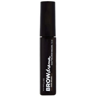 MAYBELLINE Тушь для бровей Brow Drama Темно-коричневый туши maybelline new york тушь для бровей brow precise fiber filler оттенок 06 темно коричневый 7 6 мл