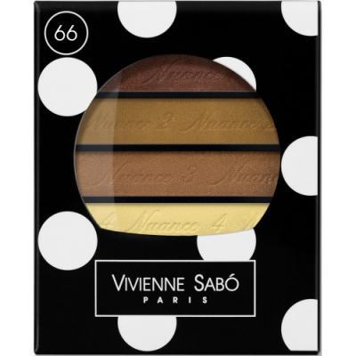 Картинка для VS Тени для век квартет / Eyeshadow Quartet / Ombre a Paupieres Quartette Quatre Nuances тон/shade 66