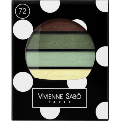 Картинка для VS Тени для век квартет / Eyeshadow Quartet / Ombre a Paupieres Quartette Quatre Nuances тон/shade 72