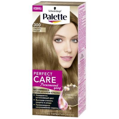 PALETTE PERFECT CARE крем-краска 300 Светло-русый 110 мл цена 2017