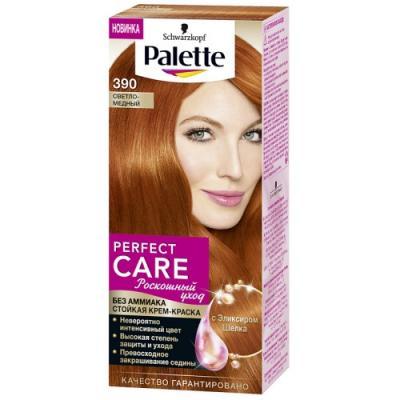 PALETTE PERFECT CARE крем-краска 390 Светло-медный 110 мл цена 2017