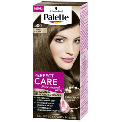 PALETTE PERFECT CARE крем-краска 500 Темно-русый 110 мл palette perfect care 220 кристальный блонд 110 мл