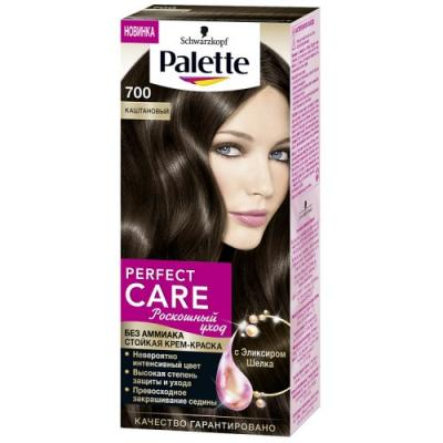 PALETTE PERFECT CARE крем-краска 700 Каштановый 110 мл palette perfect care 220 кристальный блонд 110 мл