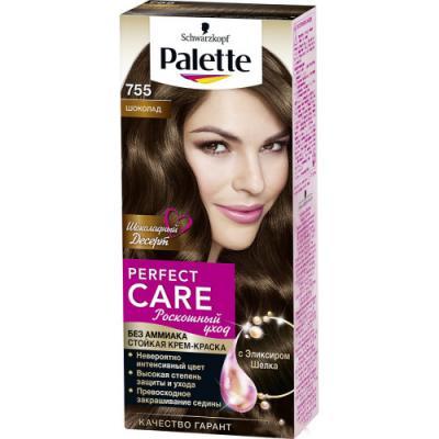 PALETTE PERFECT CARE крем-краска 755 Шоколад 110 мл краски для волос palette palette perfect care 555 молочный шоколад