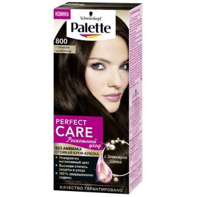 PALETTE PERFECT CARE крем-краска 800 Горький шоколад 110 мл palette perfect care 220 кристальный блонд 110 мл