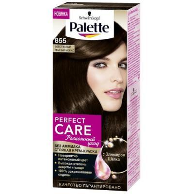 PALETTE PERFECT CARE крем-краска 855 Золотистый темный мокко 110 мл palette perfect care 855 золотистый темный мокко 110 мл