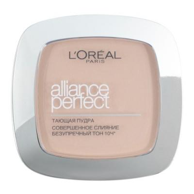 LOREAL ALLIANCE PERFECT Пудра для лица тон N2 тони моли пудра для лица spoiler oil paper pact тон 02 5г
